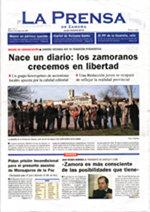 """""""La Prensa de Zamora"""", nuevo diario de información general"""