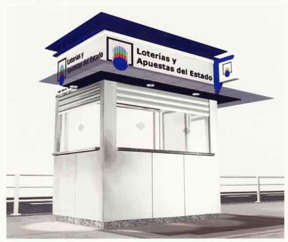 Mobiliario Urbano se adjudica quioscos de loterías y estancos en Madrid