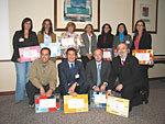 Los ganadores recogieron sus premios el pasado 15 de marzo