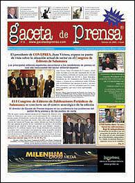 Gaceta de Prensa incluye además sus secciones de siempre 'La Golosina', 'Sección Jurídica', 'Noticias','Reportajes','Entrevistas' y la nueva sección 'El Lobo Estepario'