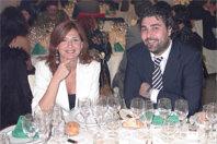 Amanda Sarmiento y Carlos López Monje de Micropublic