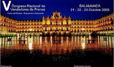 Salamanca acogerá desde el 21 al 23 de octubre el V Congreso Nacional de Vendedores de Prensa