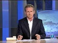 Milá presenta el telediario de la segunda edición en 'TVE'