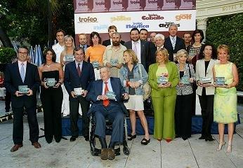 Todos los galardonados de esta edición fueron destacadas personalidades de la política, el espectáculo o el deporte