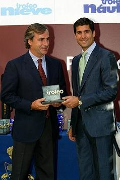 El bicampeón del mundo de rallies, Carlos Sainz, fue nombrado 'Cazador del año'