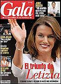 """La revista """"GALA"""" sale los jueves"""