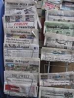 La prensa estadounidense ha sufrido una gran caída en su tirada anual, según se afirma por Internet