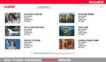 Cuatro refuerza su área de venta de contenidos con una nueva web