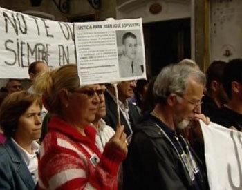 La manifestación pidiendo justicia fue convocada por varias asociaciones contra los delitos violentos