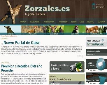 Zorzales es un portal generalista para los amantes de la caza