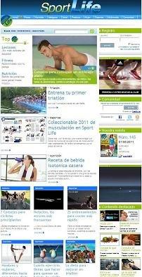 Nueva web Sportlife.es : La web líder de deporte se presenta  en un nuevo formato