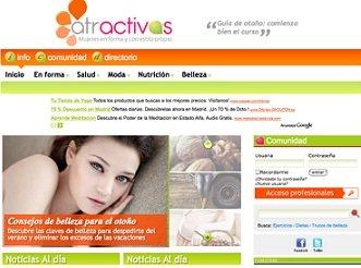 G+J lanza www.atractivas.es