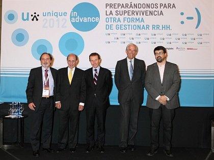 Emilio Butragueño, Tomás Zumárraga, Genís Roca y Ramón Sabella