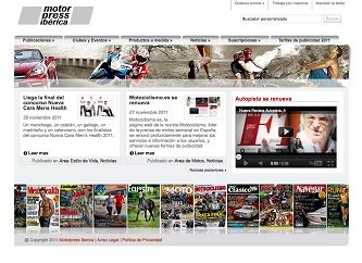 Motorpress Ibérica ha renovado y lanzado su nueva web corporativa que se puede visitar en la dirección: www.motorpress-iberica.es