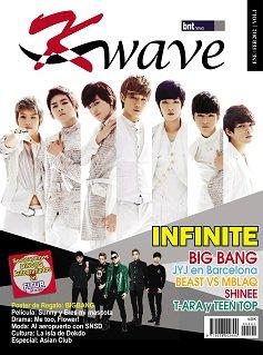 Lanzamiento de la revista K-Wave, en los quioscos el 2 de enero