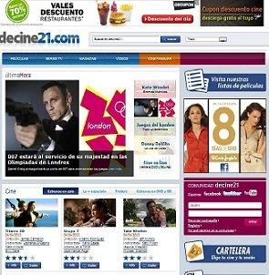 Decine21.com renueva su diseño e incorpora nuevas funcionalidades interactivas