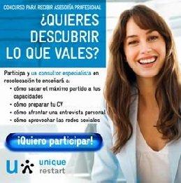 """Descubre lo que vales"""", el concurso organizado a través de Facebook por Unique para ayudar a encontrar empleo"""