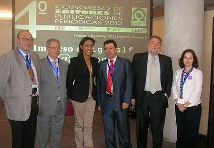 La Consejera de Cultura inaugura el 4º Congreso de la AEEPP: ¿Impreso o digital? ¡Ambos!