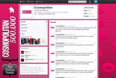 Cosmopolitan alcanza el medio millón de followers