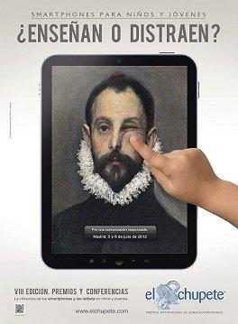 La VIII edición de El Chupete tratará el uso que niños y adolescentes hacen de los dispositivos móviles
