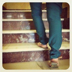 Subir escaleras es un ejercicio beneficioso para el corazón
