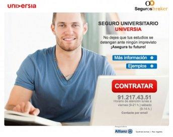 Universia y Alianz Seguros crean un seguro que garantiza los estudios a los jóvenes españoles