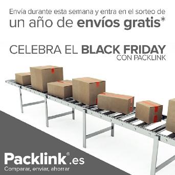 Celebra con Packlink el Black Friday 2015