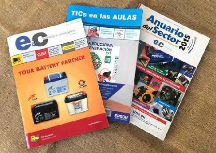 Interempresas Media adquiere las cabeceras Electrónica & Comunicaciones y TICS en las Aulas