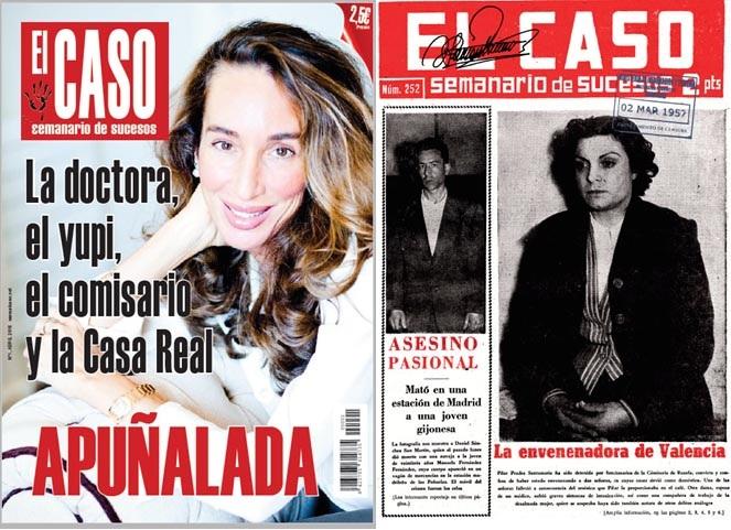 La revista de sucesos El Caso vuelve a los kioscos