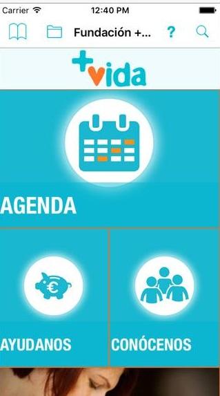 Fundación +Vida lanza su propia APP NATIVA en Google Play y App Store, desarrollada con la plataforma AppsEditor