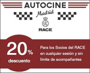 Apertura del primer Autocine de Madrid, el más grande de España.